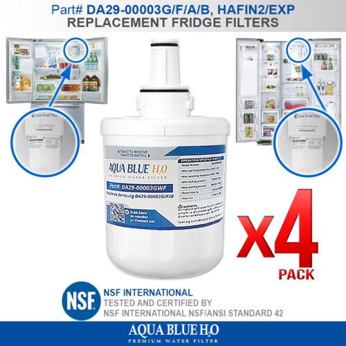 REPLACEMENT WATER FILTER DA29-00003G-WF FOR SAMSUNG FRIDGE MODEL SRS606DHLS