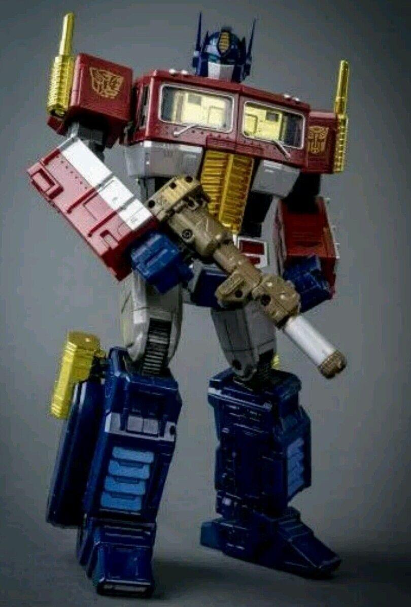 mas preferencial Transformers Transformers Transformers MP-10 Optimus Prime oro Obra Maestra Yoth 30 Años Aniversario  tiempo libre