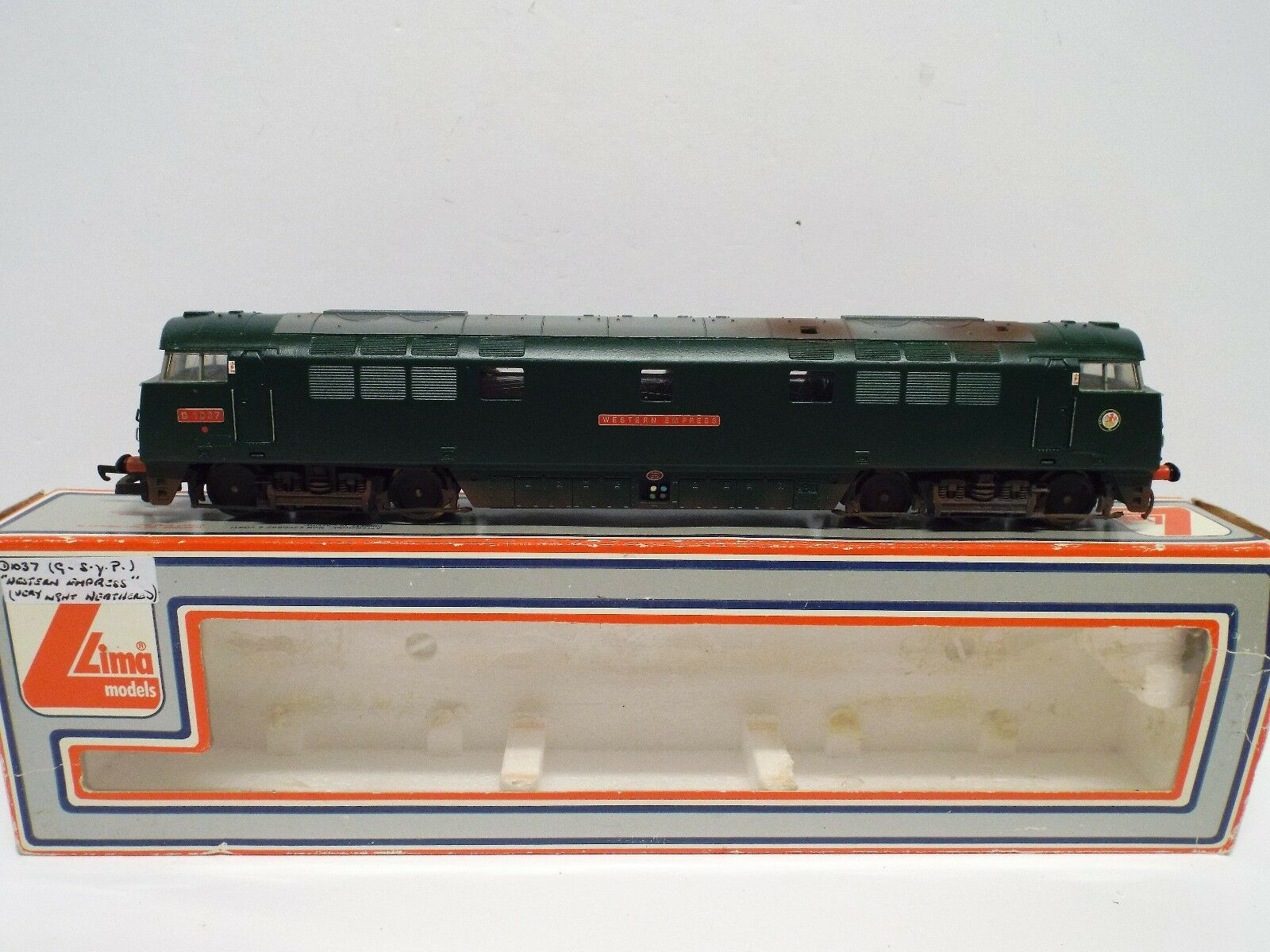 LIMA 205149W CLASS 52 WESTERN EXPRESS LIGHTLY WEATHErojo D1037 BOXED (OO648)