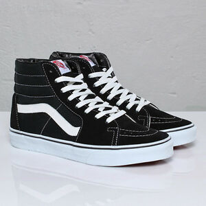 31302485c0d6 Buy vans sk8 hi black canvas