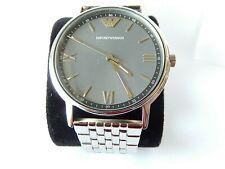 Abundantemente Permitirse Resaltar  Emporio Armani Men's Steel Bracelet Watch AR11068 for sale online | eBay