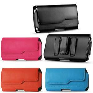 Premium-Leather-Case-Loop-Belt-Clip-Holster-Pouch-For-iPhone-SE-2020-8-7-6