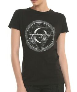 54f72120a33 A Perfect Circle APC SIGIL LOGO Girls T-Shirt TOOL NEW Authentic ...