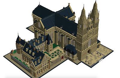 Lego Custom Instruction Polish Cathedral
