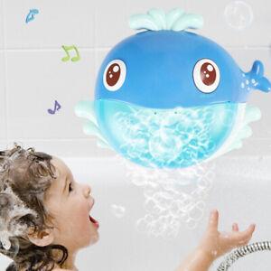 Cartoon-whale-bubble-machine-music-bubble-baby-bath-shower-bathing-toys-PB
