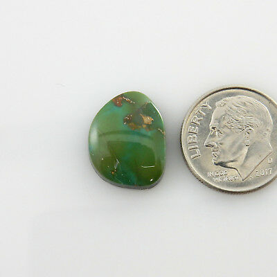 0399 Carico Lake Turquoise 16.5 cts Finished Cabochon -All Natural