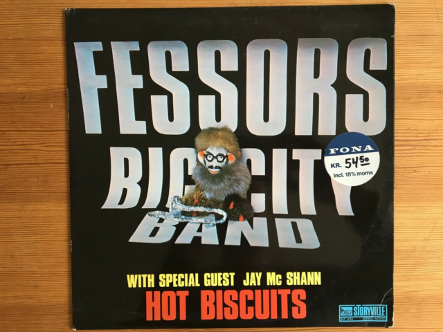 LP, Fessor's Big City Band/Jay McShann, Hot Biscuits, Jazz,…