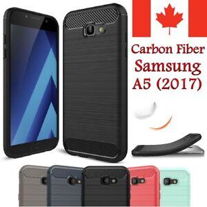 For-Samsung-Galaxy-A5-2017-Case-Shockproof-Carbon-Fiber-Soft-TPU-Hybrid-Cover