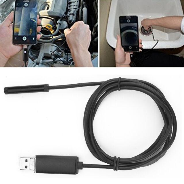 Endoskop Video Rohrkamera 6 LED USB Inspektionskamera Wasserdicht Endoscope S