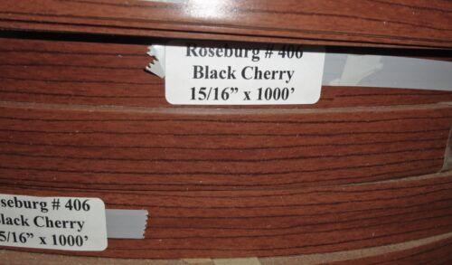 "Roseburg//Duramine 406 Black Cherry PVC edgebanding match 15//16/"" x 120/"" nonglued"