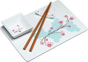 Kitchen-Craft-chin-Orientalsiches-Orient-Sushi-Servierset-4tlg-Neu