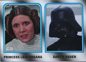 Walmart Star Wars Journey to Last Jedi ~ FAMILY LEGACY 6-Card Insert Set