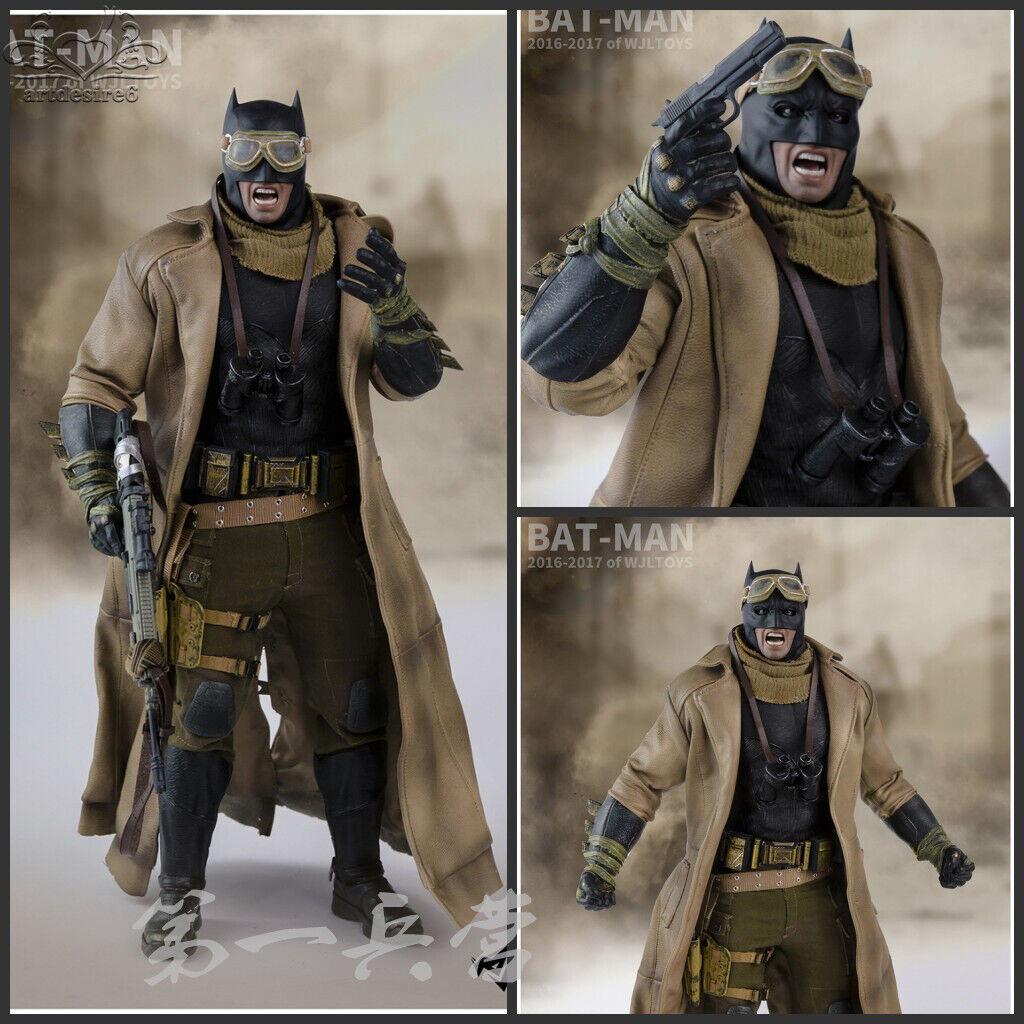 Wjltoys échelle 1 6 Batman Accessoire Vêtements Costume Set uniquement pour HOT TOYS FIGURE