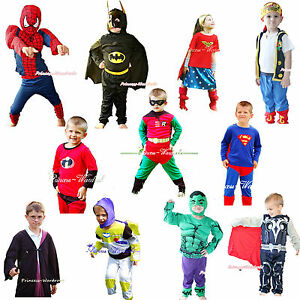 Halloween-Children-Costume-Super-Heros-Bat-Buzz-Dress-Up-Party-Cosplay-Clothing