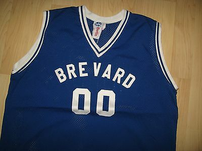 Brevard Basketball Jersey - Florida School Blue Team Mesh USA Tank Top XXLarge