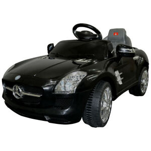 Kids Ride On Car Mercedes Benz Sls Amg 6v Electric Battery Remote