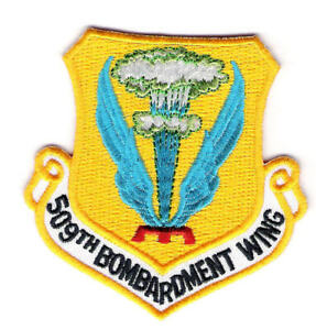 UNITED-STATES-AIR-FORCE-509th-BOMBARDMENT-WING-PATCH