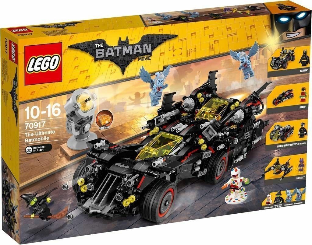 Lego Batman Movie 70917 The Ultimate Batmobile - BRAND NEW