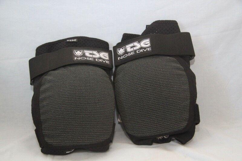 Ursprungligt skydd velo BMX TSG genou näsdykning kevlar Taile L neuf
