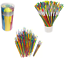 Tub-of-144-Coloured-Paint-Brushes-Childrens-Craft-Painting-School-Pack-598144 thumbnail 1