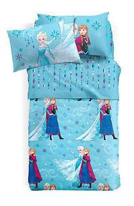 4ecb35340c Caricamento dell'immagine in corso Set-Lenzuola-Principesse-Frozen -Elsa-Azzurro-Una-Piazza-