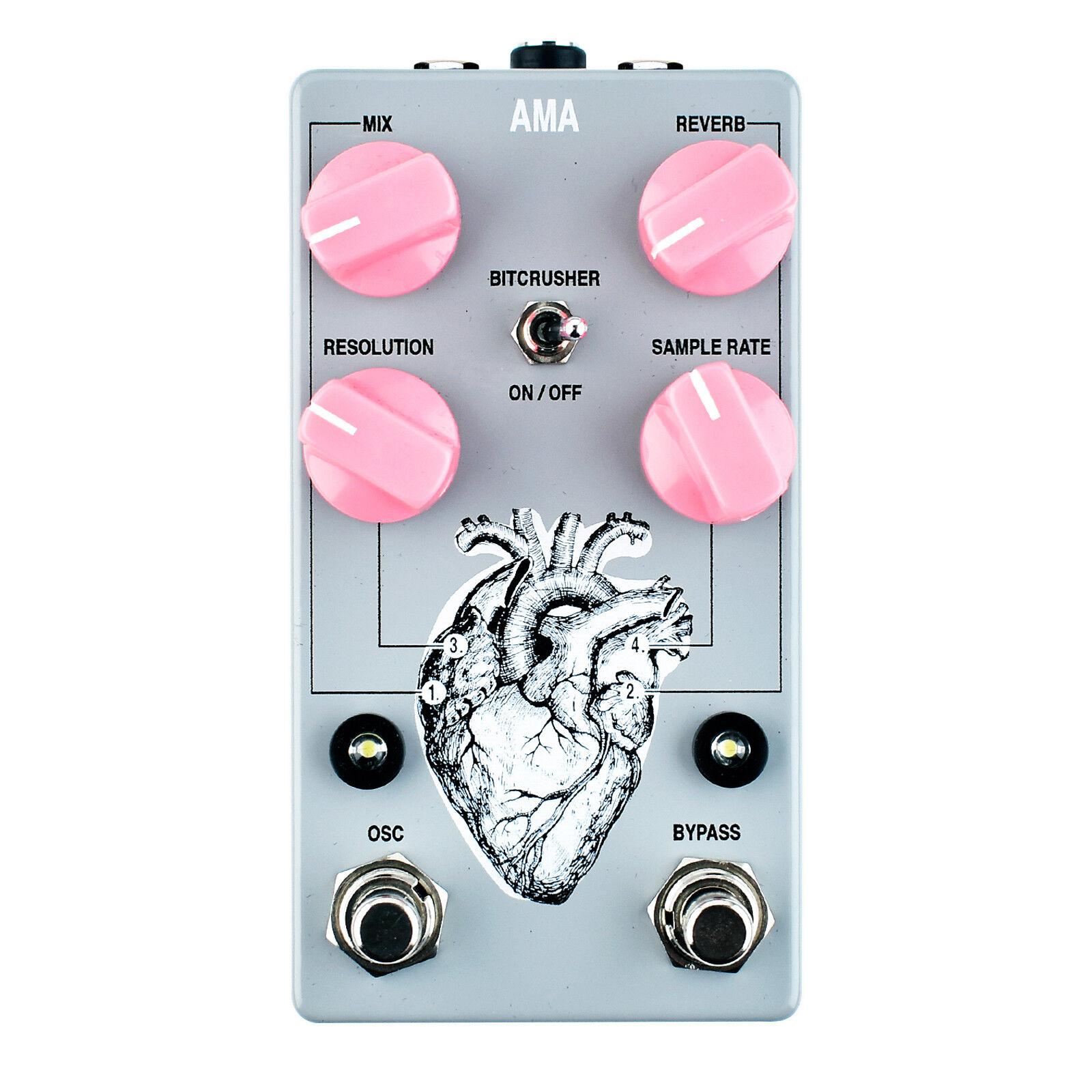 AC Noises AMA Reverb, Oscillator & Bit Crusher Pedal