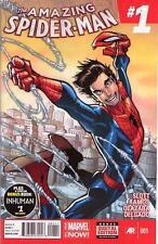 AMAZING SPIDER-MAN #1 2014 FIRST 1ST PRINT MARVEL COMICS SPIDERMAN SLOTT RAMOS