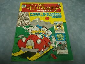 VINTAGE-DISNEY-MAGAZINE-NO-68-BY-LONDON-EDITIONS-MAGAZINES-VERY-RARE-COMIC