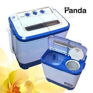 Panda Small Portable Compact Washer Washing Machine Cap