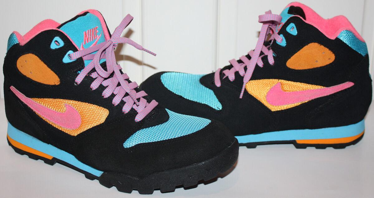 EUC Mens Nike Multi-Color Athletic Shoes Size 9.5