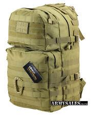 Tactical Desert COYOTE Molle 40L Assault Pack by Kombat UK - Backpack, Rucksack