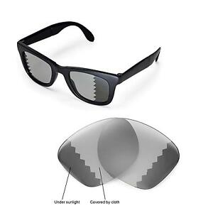 13376fa5fd5 Details about New Walleva Polarized Transition Lenses For Ray-Ban Wayfarer  RB4105 50mm
