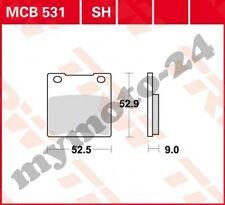 TRW Lucas Bremsbeläge MCB531SH hinten Suzuki GSF 600 S Bandit