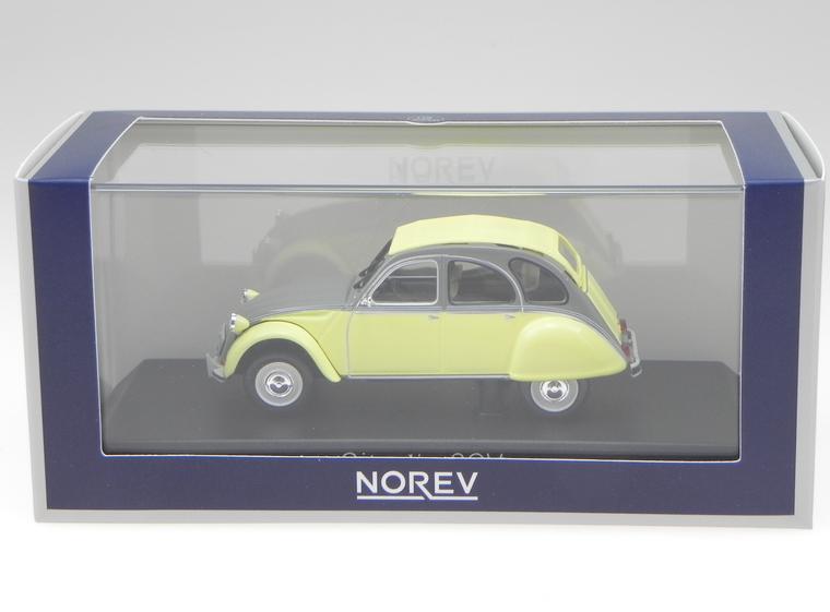 Citroen 2CV Dolly 1985 Rialto jaune & Cormoran gris 1 43  151398  Norev