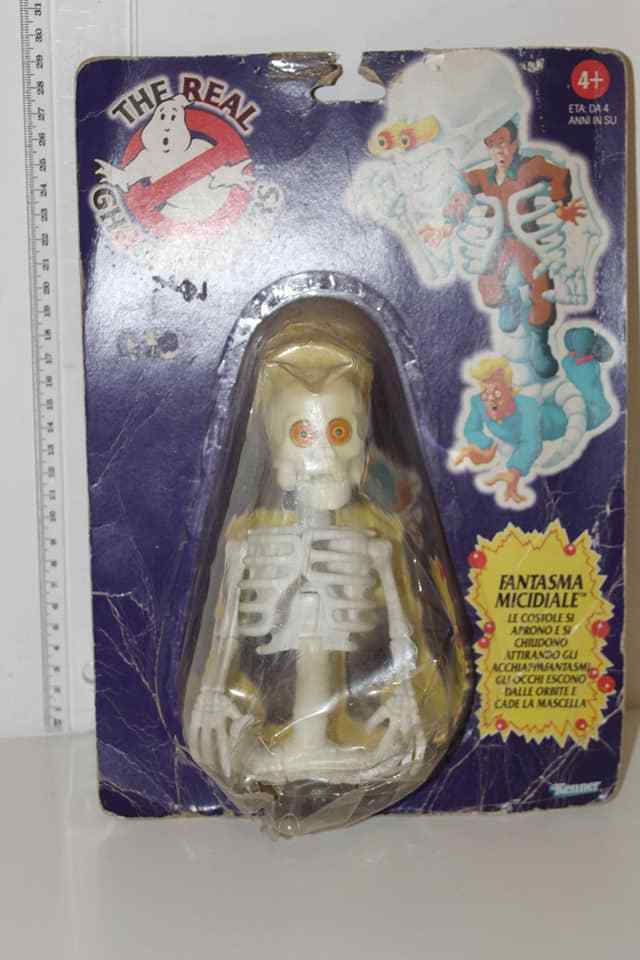 THE REAL GHOSTBUSTERS KENNER FANTASMA MICIDIALE VINTAGE TOY ORIGINAL
