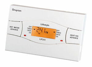 Drayton Lifestyle LP112  24 Hour Electronic Programmer Central Heating Boiler