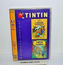 DVD VIDEO TINTIN 2 AVENTURES INTEGRALES
