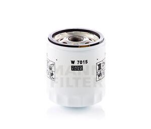 Engine Oil Filter-VIN: 9, FI, Turbo MANN W 7015