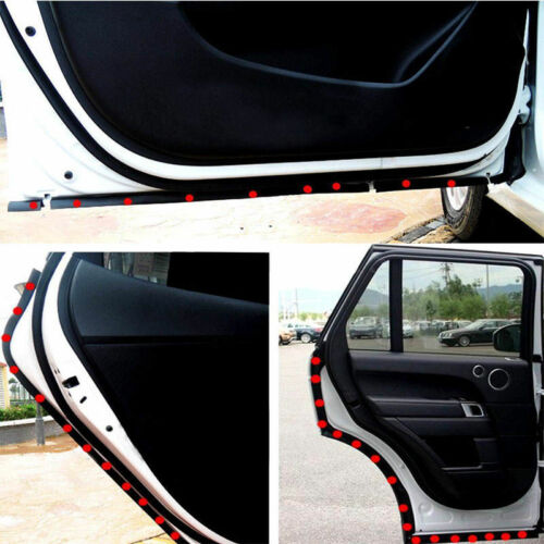 4M P-Shaped Car Motor Truck Door Rubber Seal Hollow Strip Weatherstrip Sealing