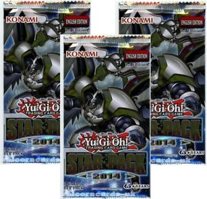 YuGiOh-Star-Pack-2014-New-and-Sealed-YuGiOh-Booster-Packs-x3