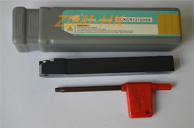SCKCR1212H09 12×100mm Index External Lathe Turning Holder For CCMT09T3 inserts
