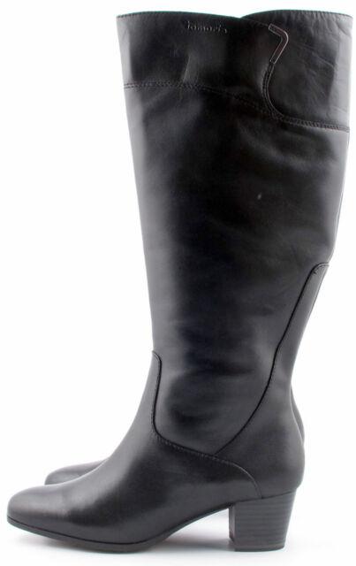 Womens Tamaris 25537 Black Leather