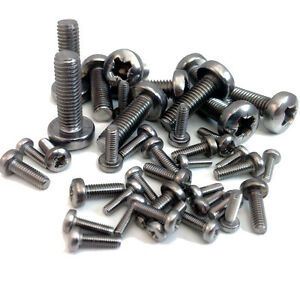 M3-3mm-A2-STAINLESS-MACHINE-SCREW-POZI-PAN-HEAD-POZIDRIVE-BOLTS-SCREWS-DIN7985