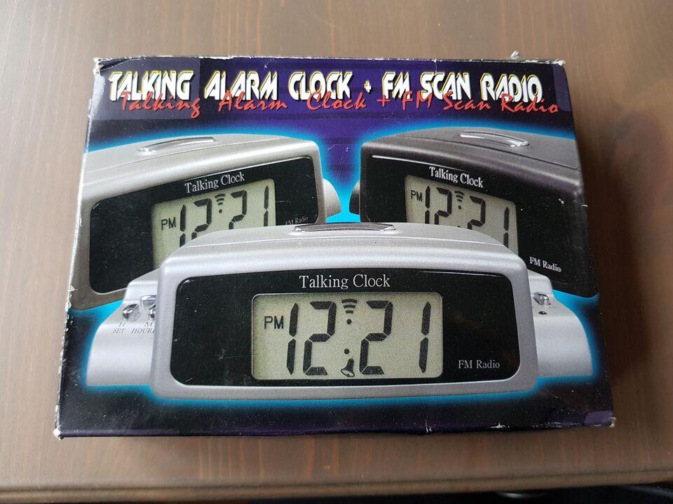 Clockradio, Andet, Talking Clock Regent Ure