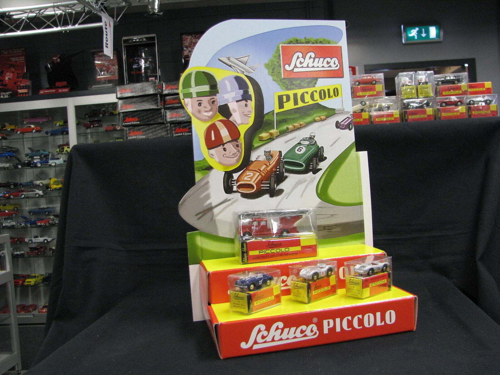 Con precio barato para obtener la mejor marca. Schuco Piccolo DisJugar with with with 4 models 3x Mercedes-Benz   1x Porsche (JS)  nuevo listado