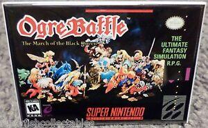 Details about Ogre Battle SNES Game Box 2