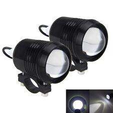2x 30W Motorrad Motorbike CREE U2 LED Driving Fog Spotlight Lamp Scheinwerfer