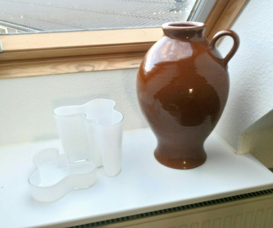 Stort keramik vase