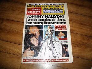 """Johnny Hallyday """"France Dimanche"""" n° 2268 Fevrier 1990 - France - État : Occasion: Objet ayant été utilisé. Consulter la description du vendeur pour avoir plus de détails sur les éventuelles imperfections. ... - France"""