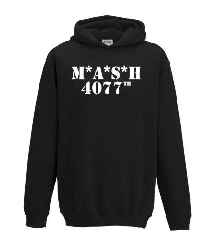 MASH 4077th Rétro Robe Fantaisie TV programme US Marines infirmiers 1403 Sweat à capuche